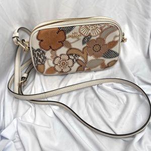 Coach Floral Wallet Crossbody Bag